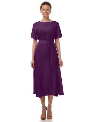 Платье фиолетовое | 4487827