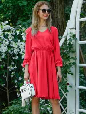 Платье коралловое | 4487896