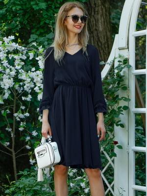 Сукня темно-синя   4487895