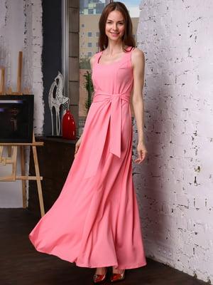 Платье розовое | 4487935
