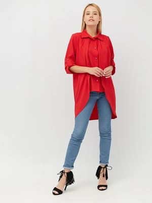 Блуза красная | 4488972