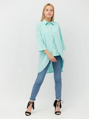 Блуза мятного цвета | 4488974