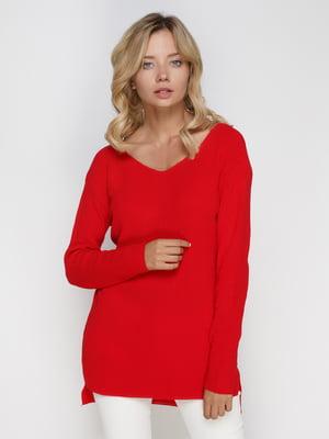 Пуловер красный | 4480953