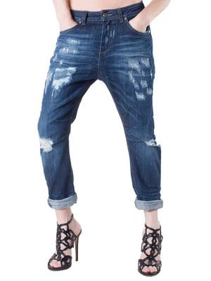 Джинсы синие - Sexy Woman - 4489937