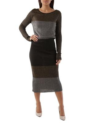 Платье трехцветное | 4490117