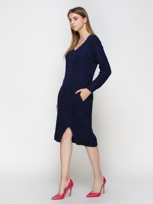Платье темно-синее   4480894