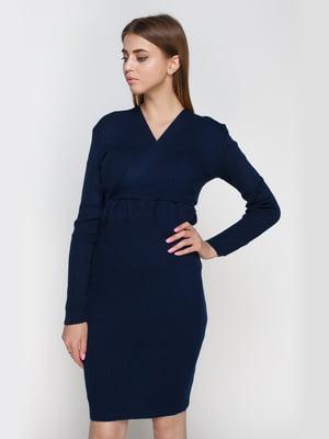 Платье темно-синее   4480795