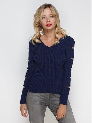 Пуловер синий   4480839