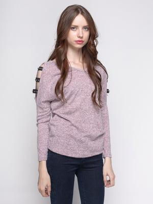 Пуловер розовый | 4481359