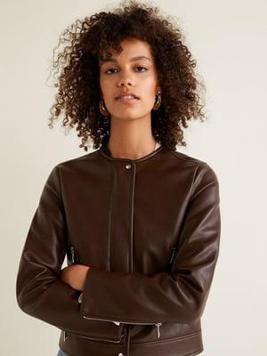 Куртка коричнева | 4489471