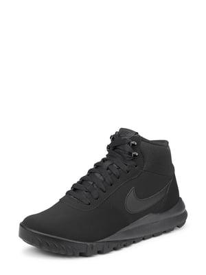 Ботинки черные Hoodland Suede | 4490979