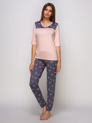 Піжама: лонгслів і штани | 4480301