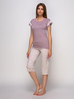 Піжама: футболка та бриджі | 4480292