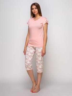 Піжама: футболка та бриджі | 4480289