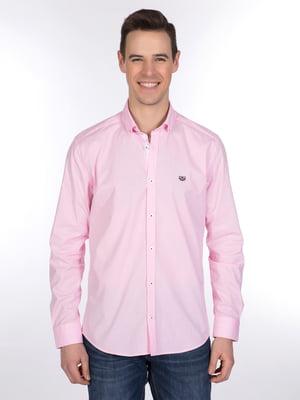 Рубашка розовая | 3989596