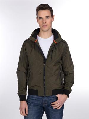 Куртка цвета хаки | 3989650