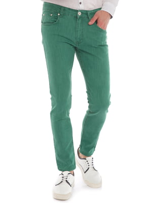 Джинси зелені | 4376975