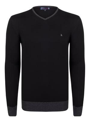 Пуловер черный   4376983