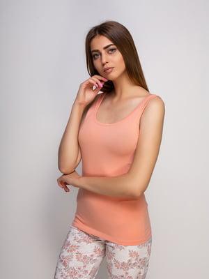 Майка персикового кольору | 4480240