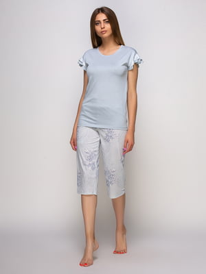 Піжама: футболка та бриджі | 4480290
