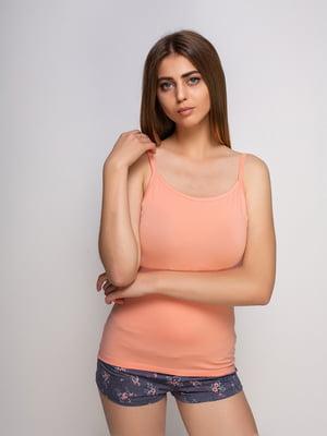 Майка персикового кольору | 4480232