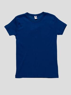 Футболка синя | 3178612