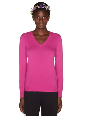 Пуловер розовый | 4407557