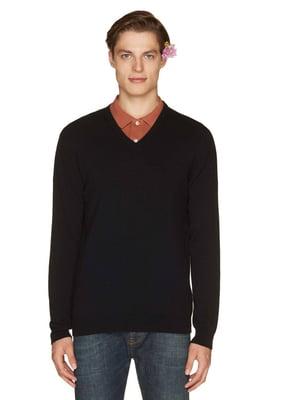 Пуловер черный | 4407571