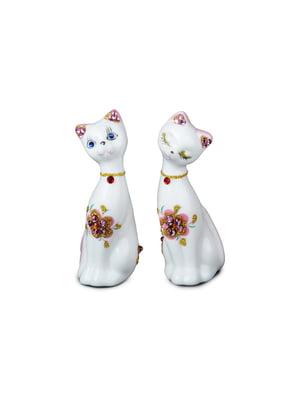 Набір декоративних фігурок «Кішечка» (2 шт., 9 см) | 4492776