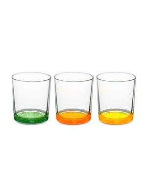 Набір з 3-х склянок «Цитрус» (220 мл) | 4493545