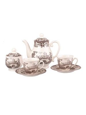 Чайний набір «Пімберлі браун» на 6 персон | 4493635