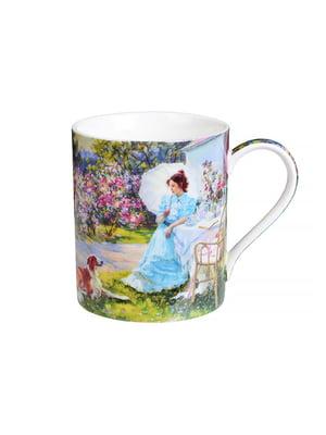 Чашка «Панночка в саду» (380 мл)   4493666