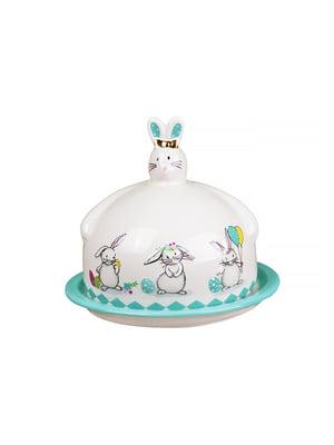 Блюдо з кришкою «Кролики» (17х14,5 см) | 4493702