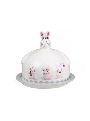 Блюдо з кришкою «Кролики» (17х14,5 см) | 4493703