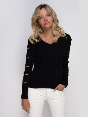 Пуловер черный | 4480837