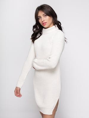 Платье молочного цвета   4481119