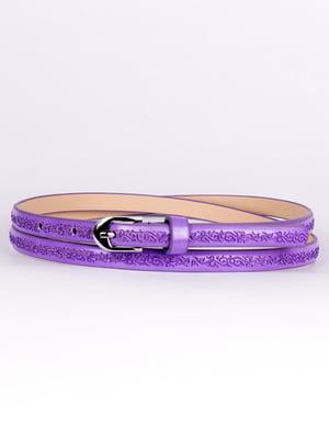 Ремень фиолетовый | 4496398