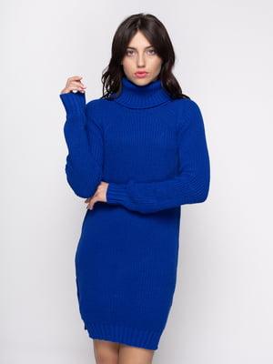 Платье цвета электрик   4481120