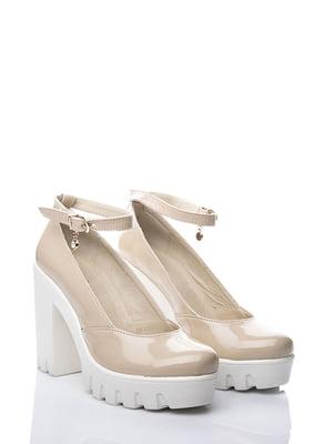 Туфлі бежеві | 3169006