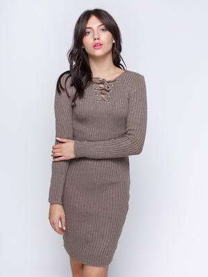 Платье цвета капучино   4480889