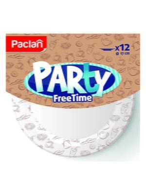 Набор тарелок бумажных Party Free Time (12 шт.) | 4498335