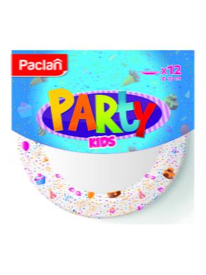 Набор тарелок бумажных цветных (12 шт.) | 4498339
