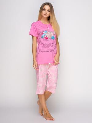 Піжама: футболка і бриджі | 4486267