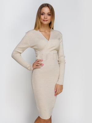 Платье бежевое   4480794