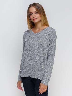 Пуловер серый   4481423