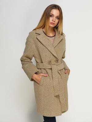 Пальто песочного цвета | 4492594