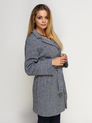 Пальто сине-черное | 4492596