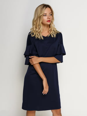 Платье темно-синее | 4492655