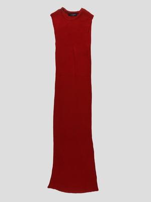 Платье бордовое | 4480691