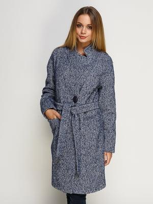Пальто світло-синє | 4492634
